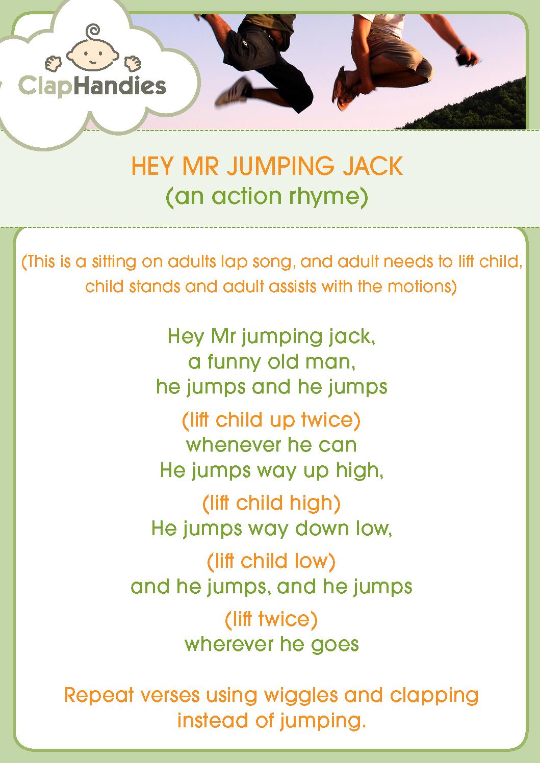 Hey Mr Jumping Jack