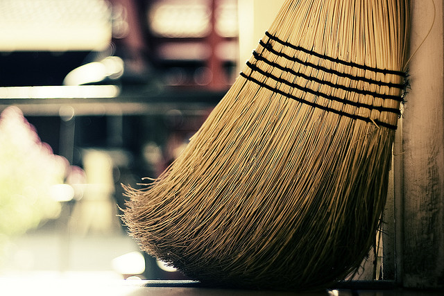 Sweep it up
